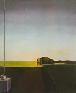 Salvador-Dali-The-True-Painting-of-_The-Isle-of-the-Dead_-by-Arnold-Bocklin-at-the-Angelus-1932