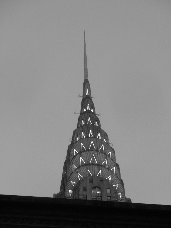 La pointe du Chrysler Building
