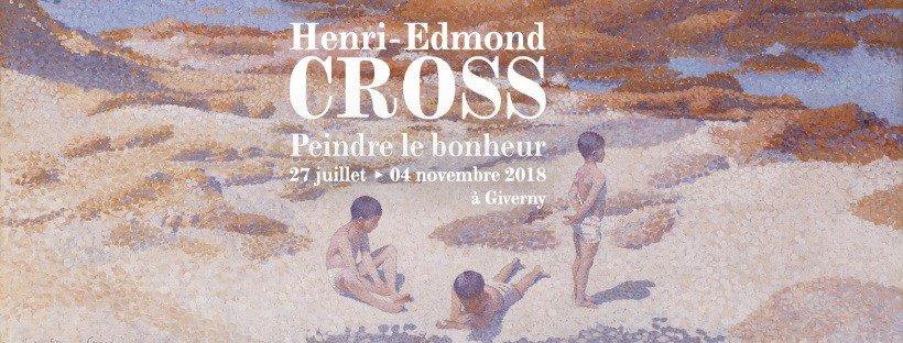 Affiche de l'expo : Henri-Edmond Cross, peindre le bonheur