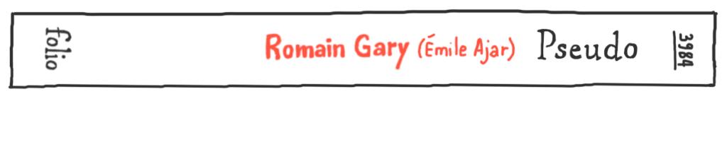 Pseudo, de Romain Gary (Émile Ajar) en Folio