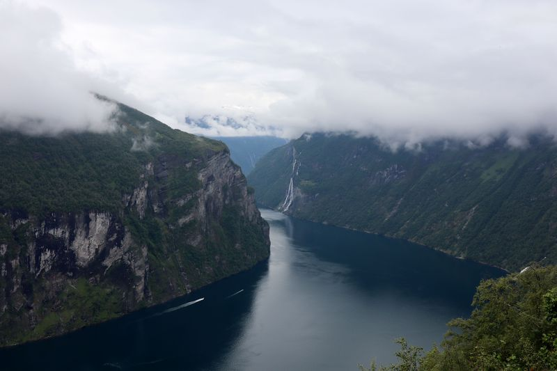 Geirangerfjord vu du dessus