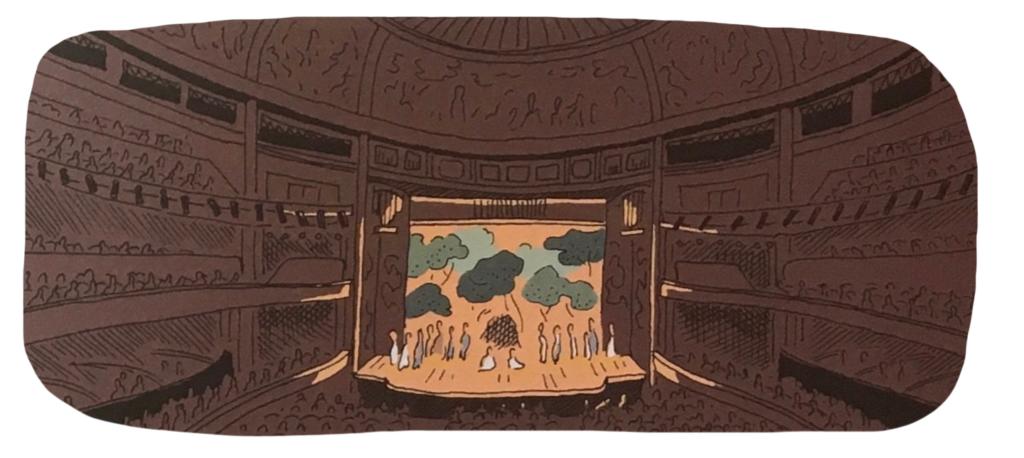 Théâtre des CHamps-Elysées, vue intérieure