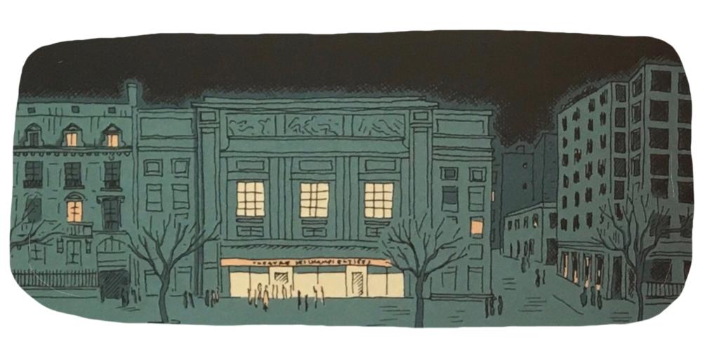 Théâtre des Champs-Elysées, vue extérieure