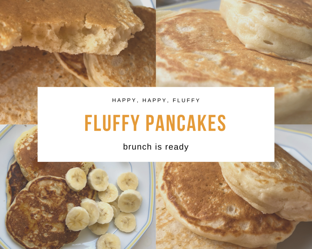 Fluffly pancakes